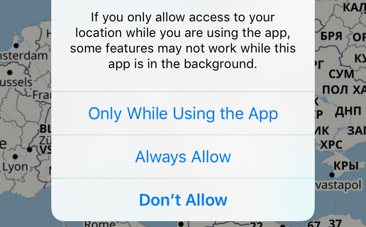 Changes to location tracking in iOS 11 – mackuba eu