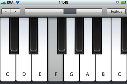 Virtuoso Piano screenshot