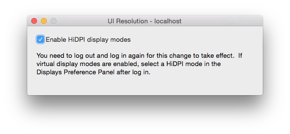 UI Resolution - Enable HiDPI display modes